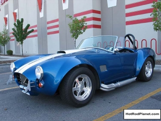 1965, Ford, Cobra, Front, Blue, White, Stripe