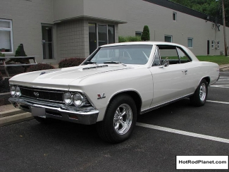 1966 Chevelle Super Sport White Front